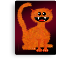 MARMALADE CAT Canvas Print