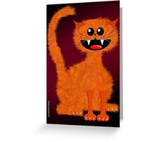 MARMALADE CAT Greeting Card