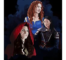 Warrior Women of Once Upon a Time Photographic Print