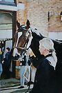 The Yearling Sales by samcannonart