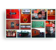 Bo'ness Steam Railway Experience Canvas Print