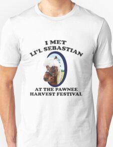 I met Li'l Sebatian At The Pawnee Harvest Festival T-Shirt