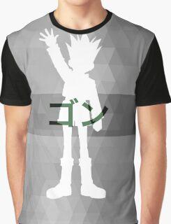 Gon Monochrome Graphic T-Shirt