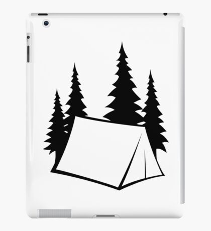 Camp Site iPad Case/Skin