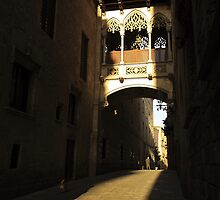 Gothic archway by Esther  Moliné