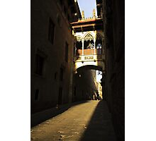 Gothic archway Photographic Print