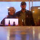 Ferry Reflection by nadinecreates