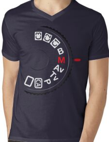 Shoot M Mens V-Neck T-Shirt