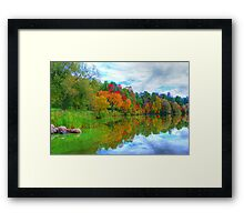 Excellence in Light & Reflection  Framed Print