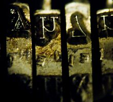 Typewriter #2 by axemangraphics