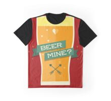 Will You Beer Mine? Graphic T-Shirt