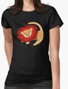 Adult Simba  Womens Fitted T-Shirt