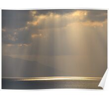 Late Afternoon with Clouds - Atardecer con Nubes Poster