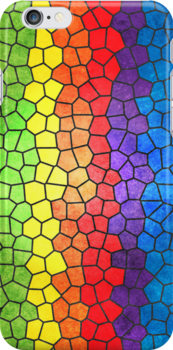 Rainbow Stained Glass by abinning