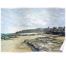 St. Andrews from the shore Poster