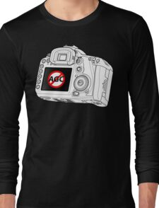 Canon 7D with AGC disable Long Sleeve T-Shirt