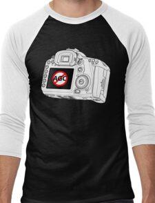 Canon 7D with AGC disable Men's Baseball ¾ T-Shirt