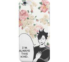 Haikyuu!! Kuroo Quote (Option 1) iPhone Case/Skin
