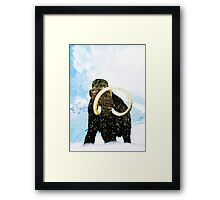 Wooly Mammoth! Framed Print