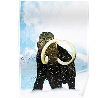 Wooly Mammoth! Poster