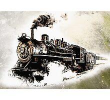 Vintage Steam Train Photographic Print