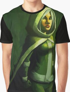 Hooded Graphic T-Shirt