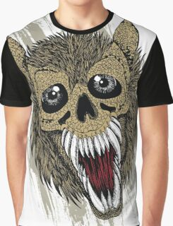 angry wolf Graphic T-Shirt