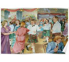 Scottish country dance Poster