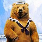 Captain Sailor Bear by Abie Davis