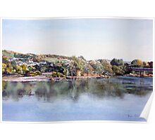 River Tay near Perth, Scotland Poster