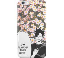 Haikyuu!! Kuroo Quote (Option 2) iPhone Case/Skin