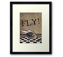 An Urge to Fly! Framed Print