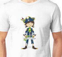 Cute Little Pirate Captain Unisex T-Shirt