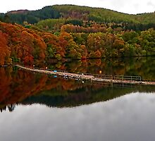 Pitlochry Reflection by Dawn (Paris) Gillies