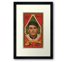 Benjamin K Edwards Collection Russell Ford New York Yankees baseball card portrait 001 Framed Print