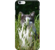 Camouflage Cat iPhone Case/Skin