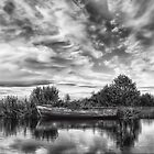 Lough Neagh Boat by peter donnan