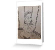 Brave Kirk Greeting Card