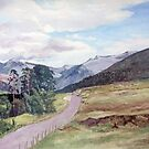 Glen Nevis,Scotland by Joyce Grubb
