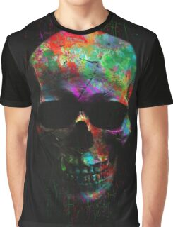 Radiant Skull Graphic T-Shirt