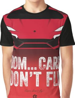 Cinema Obscura Series - The Fast & the Furious - Cars Don't Fly Graphic T-Shirt
