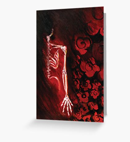 Within Flowers Greeting Card