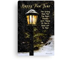 My Wish ~ For the New Year Canvas Print