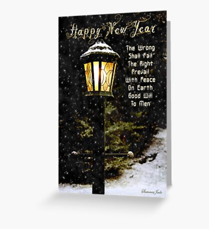 My Wish ~ For the New Year Greeting Card