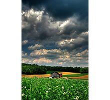 Brooding Sky Photographic Print