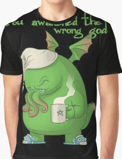 CTHULHU WOKE UP Graphic T-Shirt