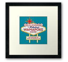Wamapoke Casino Framed Print