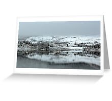 Highland Village in the Winter Greeting Card