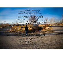 Poem interpretation Photographic Print