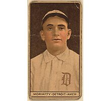 Benjamin K Edwards Collection George Moriarty Detroit Tigers baseball card portrait 002 Photographic Print